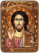 Господь икона состаренная
