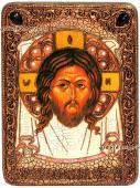 Спас Нерукотворный, икона состаренная