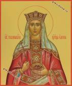 Рукопинсая икона царицы Елены артикул 6037