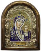 Икона Казанской БМ в синих одеждах