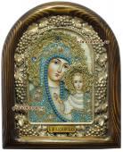 Казанская икона в голубых одждах