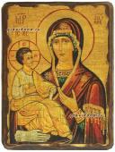 Троеручица, икона под старину