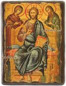 Деисус икона под старину