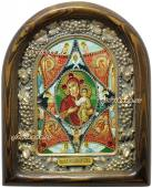 Икона из бисера Неопалимая Купина