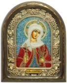 святая Валентина икона бисером