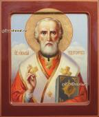 Икона Николая Чудотворца живописная артикул 6115