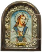 Икона бисером Ангела Хранителя