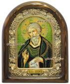 Андрей Первозванный икона бисером в киоте