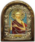 Мария Египетская икона бисером