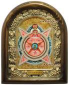 Всевидящее око икона из бисера