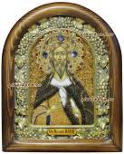 Икона Ильи из бисера