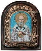 Григорий Боговслов икона бисером