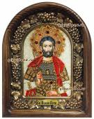Иоанн Воин икона бисером