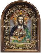 Святой Иоанн Креститель икона бисером