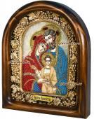 Святое Семейство - икона бисером