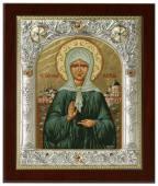 Святая Матрона, икона из Греции