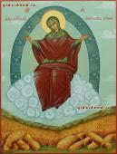Спорительница хлебов - рукописная икона артикул 5300