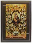 Древо Государства Российского, подарочная икона на металле