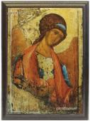 Архангел Михаил артикул 10506 икона подарочная на металле