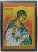 Ангел Хранитель икона подарочная из металла
