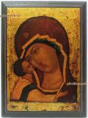 Игоревская Божия Матерь икона из металла в подарок