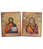 Пара икон с Владимирской артикул 311