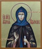 Мария Радонежская, рукописная икона артикул 6198