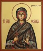 Святая Фомаида, рукописная икона артикул 6207