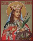 Святая Екатерина рукописная икона артикул 6208