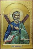 Икона Андрея Первозванного рукописная икона артикул 6122