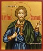 Илий Севастийский рукописная икона артикул 6141