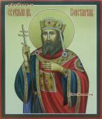 Царь Константин, писаная икона артикул 6146
