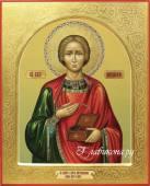 икона Пантелеймона Целителя артикул 580