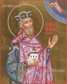 Икона святого Ярослава Мудрого артикул 6178