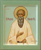 Феодор Томский праведный, рукописная икона артикул 6216