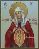 Помощница в родах, рукописная икона артикул 5293