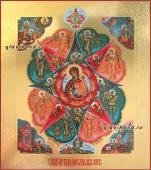 Неопалимая Купина писаная икона артикул 5309