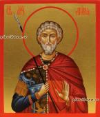 Мина Котуанский, рукописная икона артикул 6218