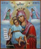"""Богородица """"Достойно Есть"""" писанная икона артикул 5326"""