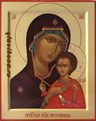 Богородица Петровская, рукописная икона артикул 5331