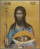 Икона святого Иоанна Предтечи артикул 6027