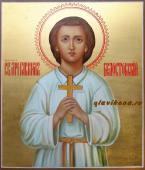 Святой мученик младенец Гавриил Белостокский - рукописная икона