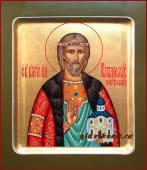 Владислав Сербский, писаная икона артикул 525