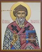 икона рукописная святого Спиридона артикул 579
