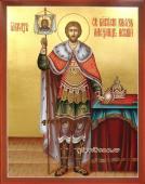 Икона Благоверного Князя Александра Невского артикул 504