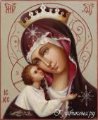 Игоревская Богородица рукописная икона артикул 262