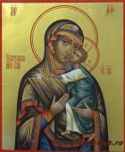 Богородица Толгская, писаная икона артикул 215