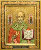 Николай Чудотворец, рукописная икона артикул 513
