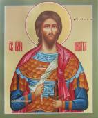 Никита Готфский, воин, писаная икона артикул 6225