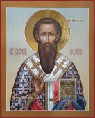 Василий Великий писаная икона артикул 6229